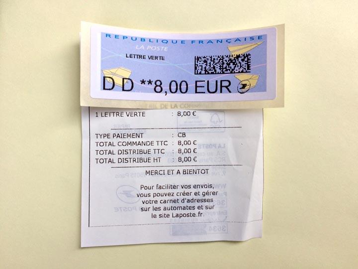 sello 8 euros fisioterapia francia