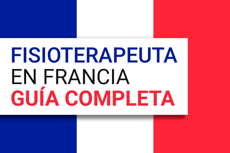 trabajar de fisioterapeuta en Francia