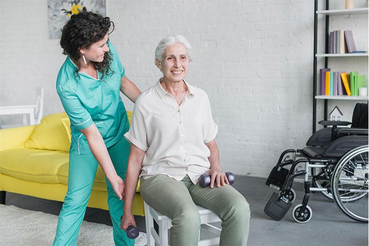 Fisioterapia y geriatría